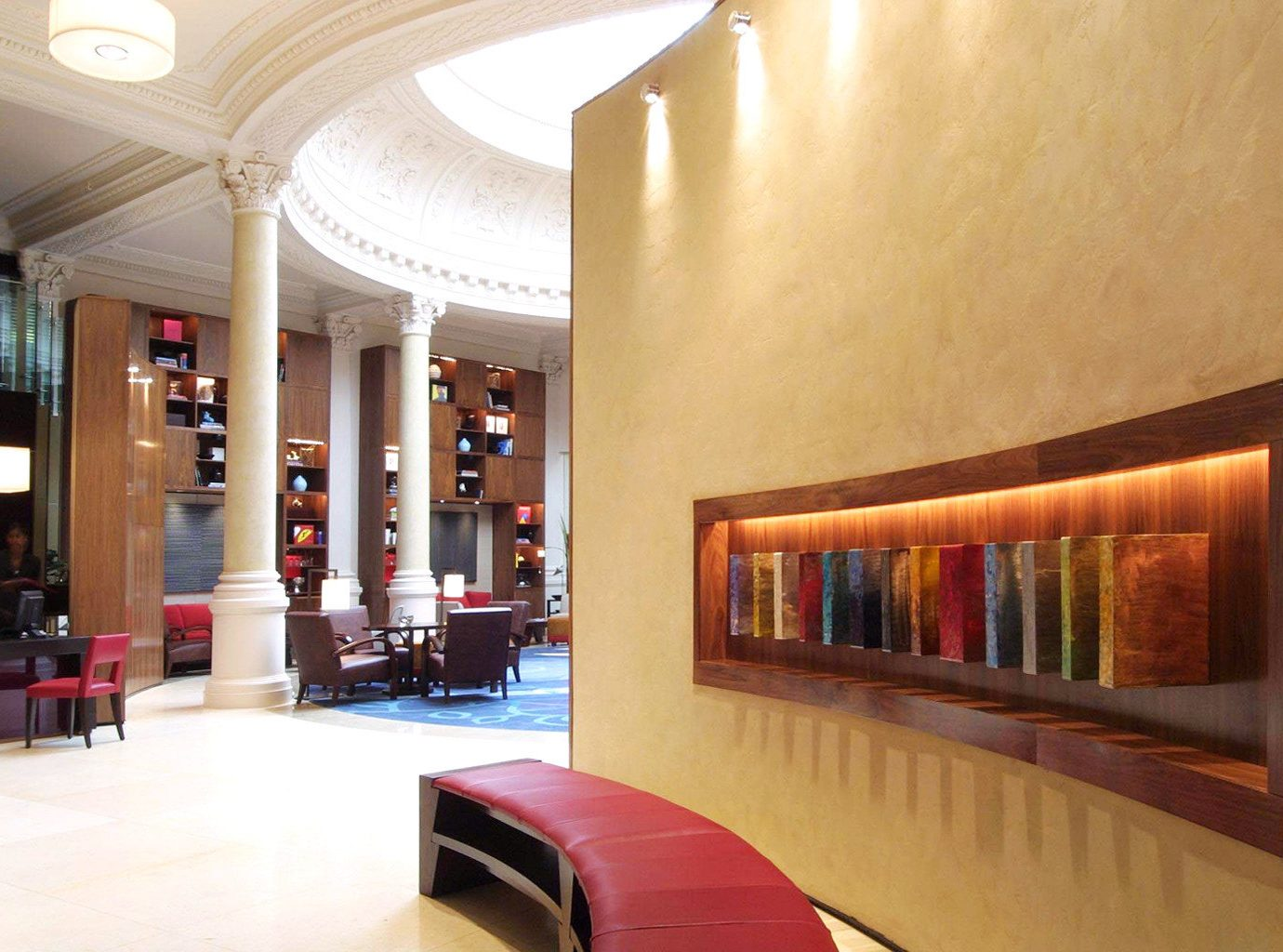 Hip Lobby Lounge Luxury Modern property living room