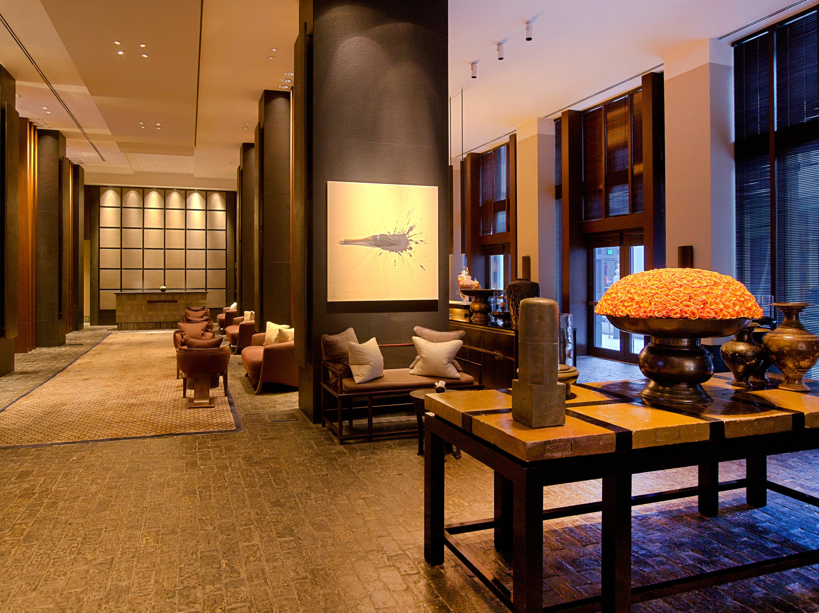 Hip Lounge Luxury Modern Scenic views Lobby property living room home Suite mansion condominium Villa