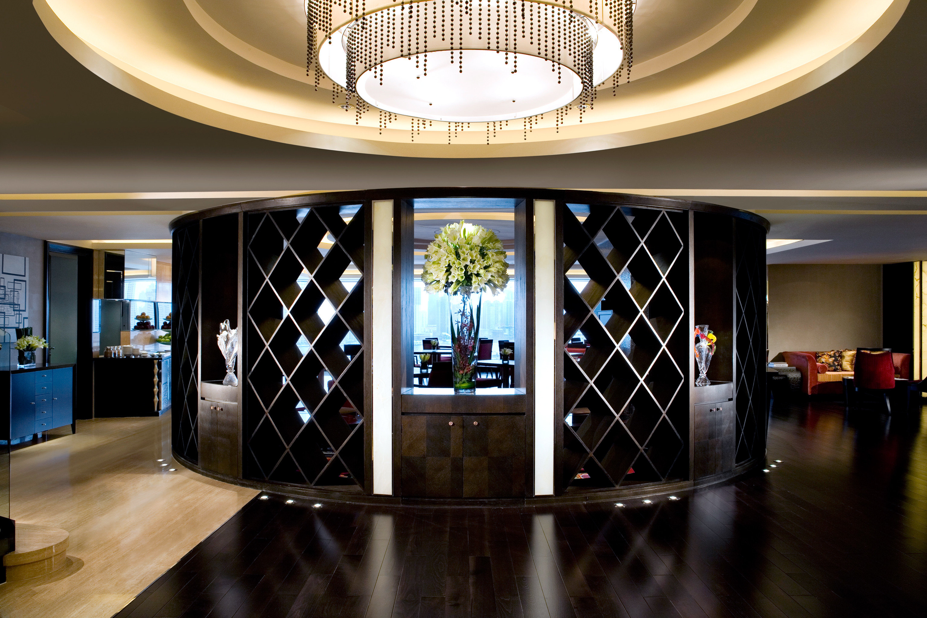 Hip Lounge Luxury Modern Lobby lighting tourist attraction