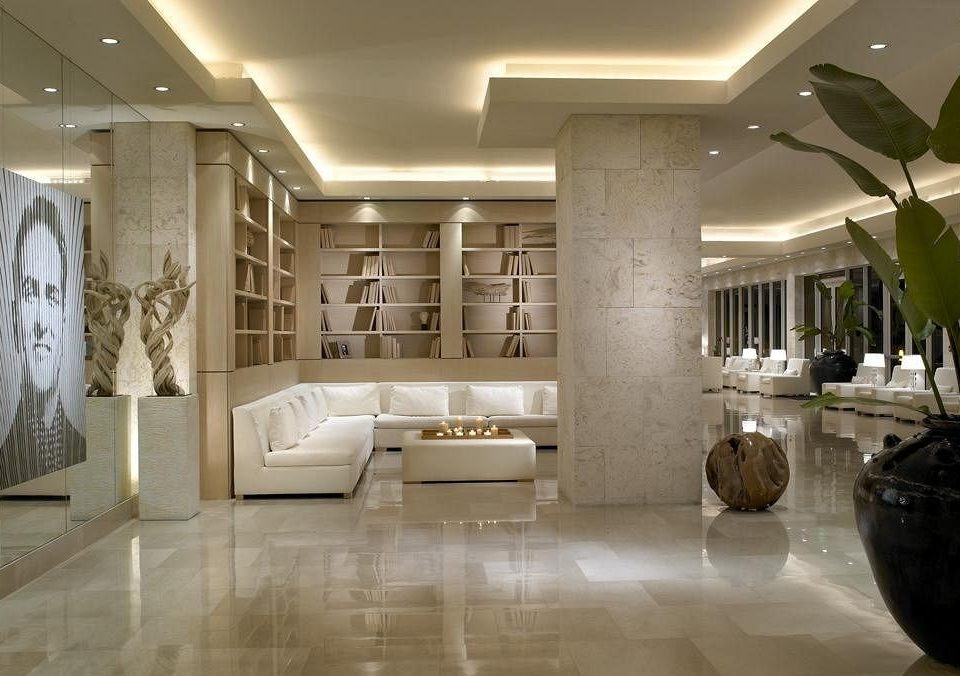 Hip Lounge Luxury Modern Lobby property living room flooring lighting home hall wood flooring mansion