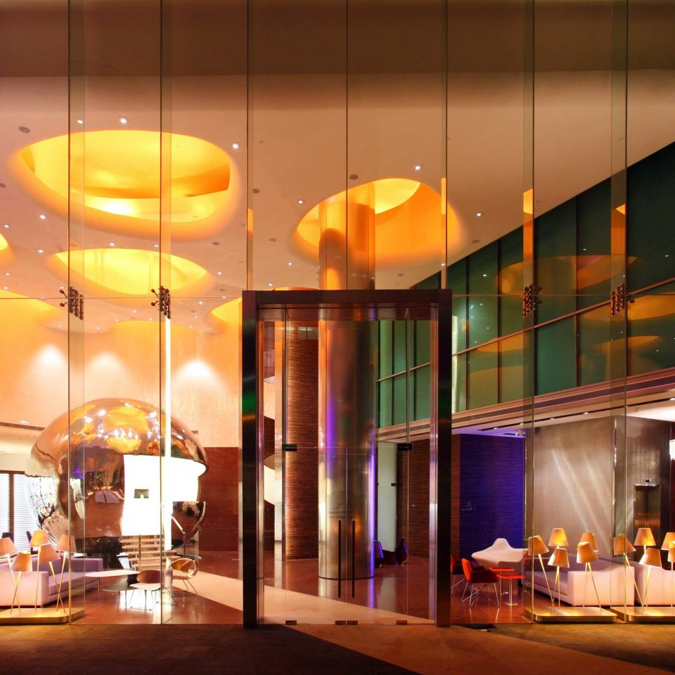 Hip Lounge Luxury Modern Lobby lighting