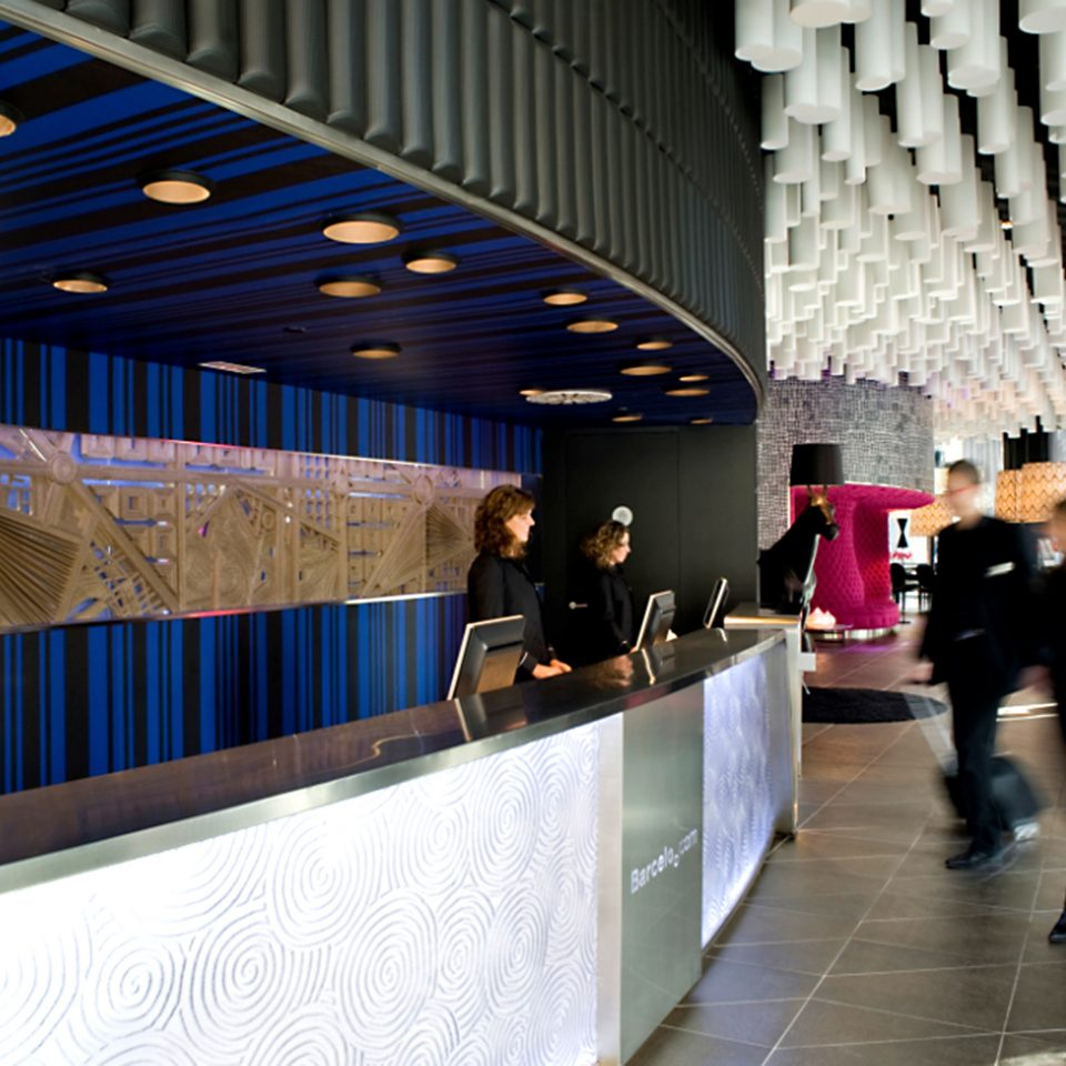Hip Lobby Lounge Modern public transport tourist attraction