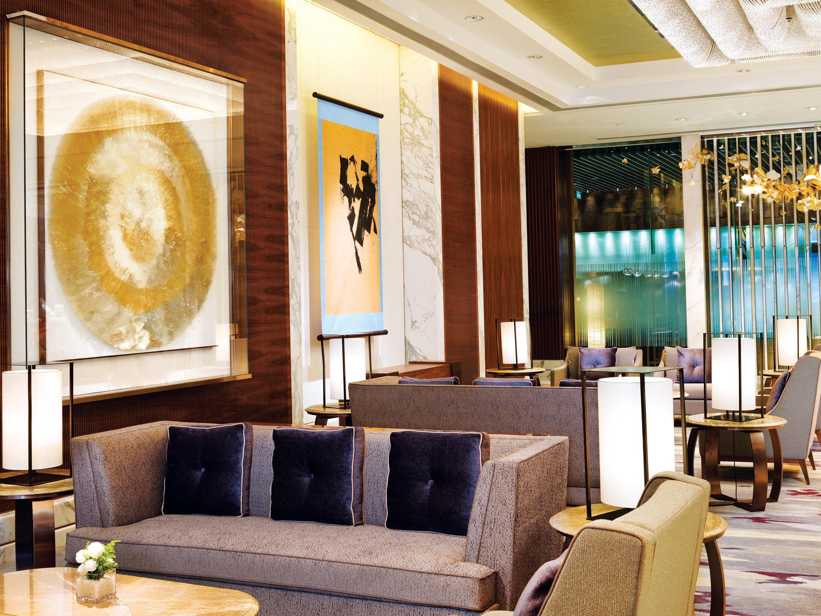 Hip Lounge Modern living room Lobby Suite home restaurant