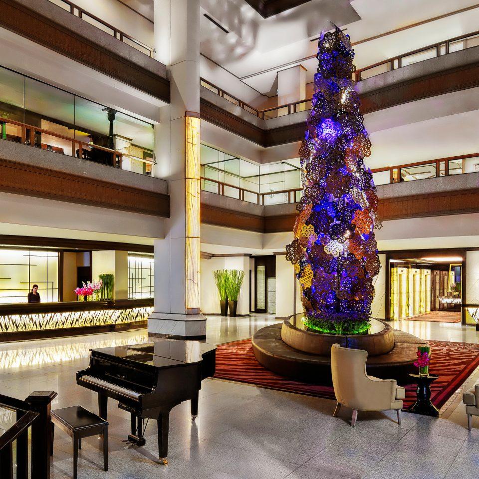 Hip Lobby Lounge home Resort living room restaurant mansion