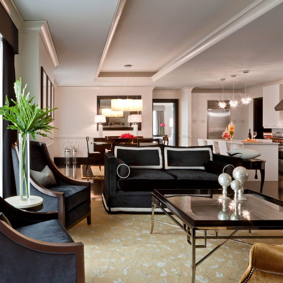 Hip Luxury property living room Lobby home condominium Suite leather