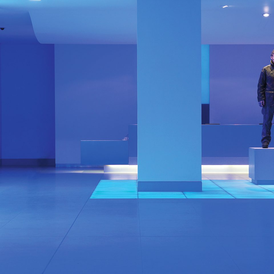 Hip Lobby Modern blue