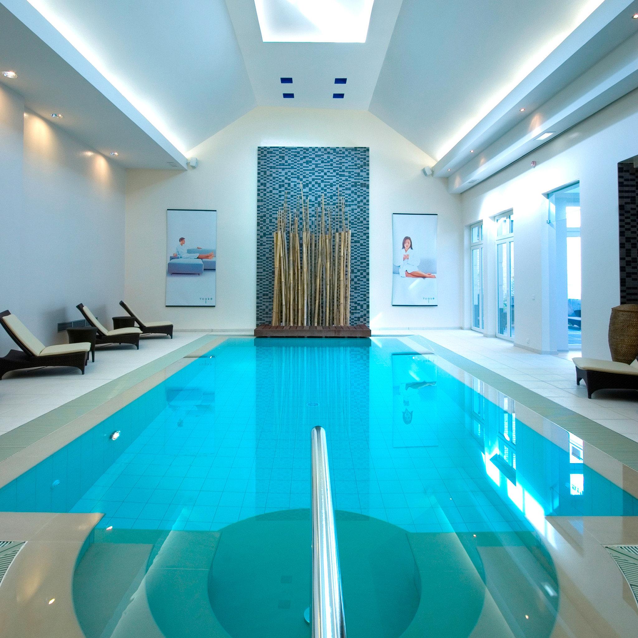 Hip Lounge Luxury Modern Pool swimming pool property blue