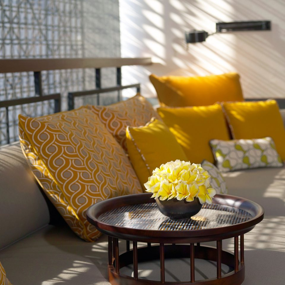 Hip Lounge Luxury Modern Scenic views yellow living room Suite