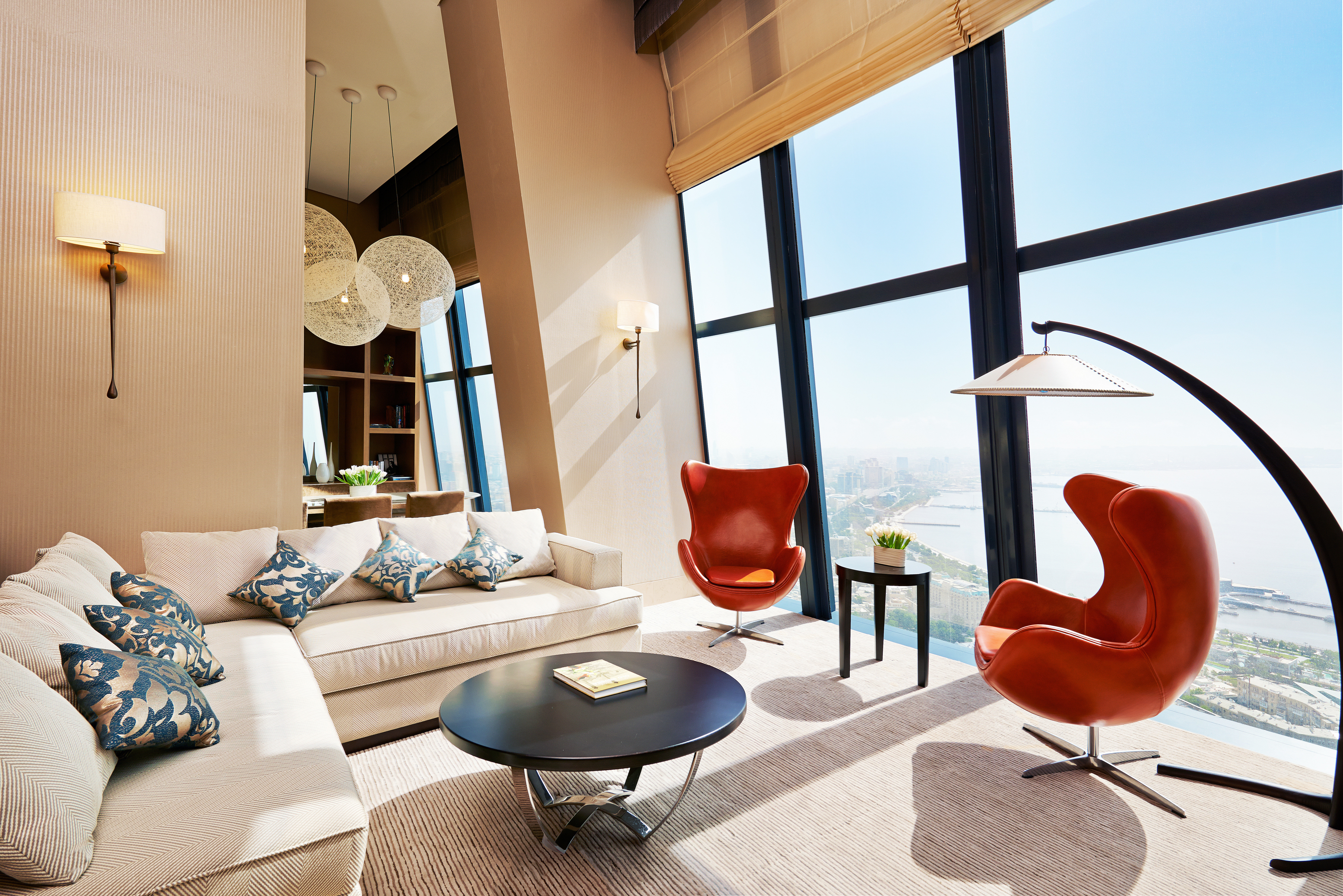 Hip Lounge Luxury Modern Scenic views property living room home Suite
