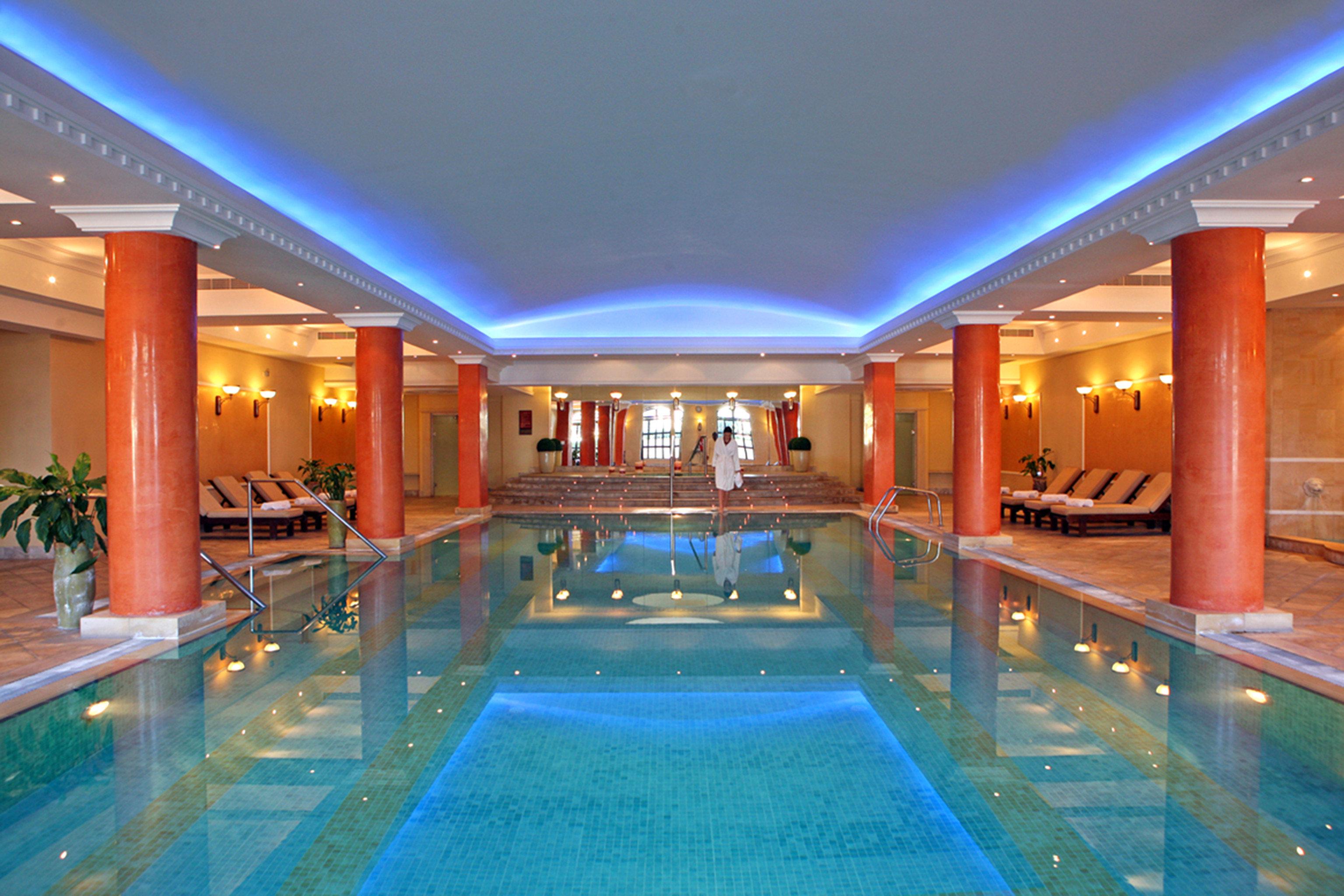 Hip Lounge Luxury Modern Pool swimming pool Resort leisure leisure centre billiard room blue