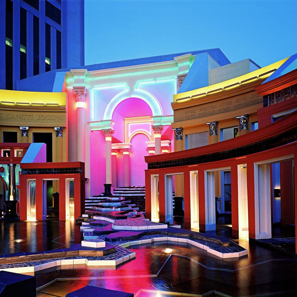 Hip Lounge Luxury Modern Resort palace colorful