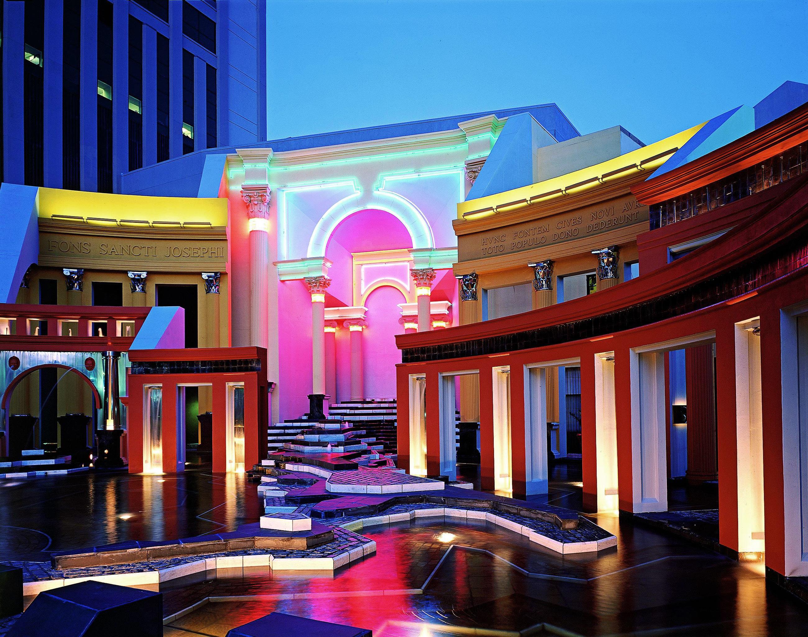 Hip Lounge Luxury Modern Resort palace colorful
