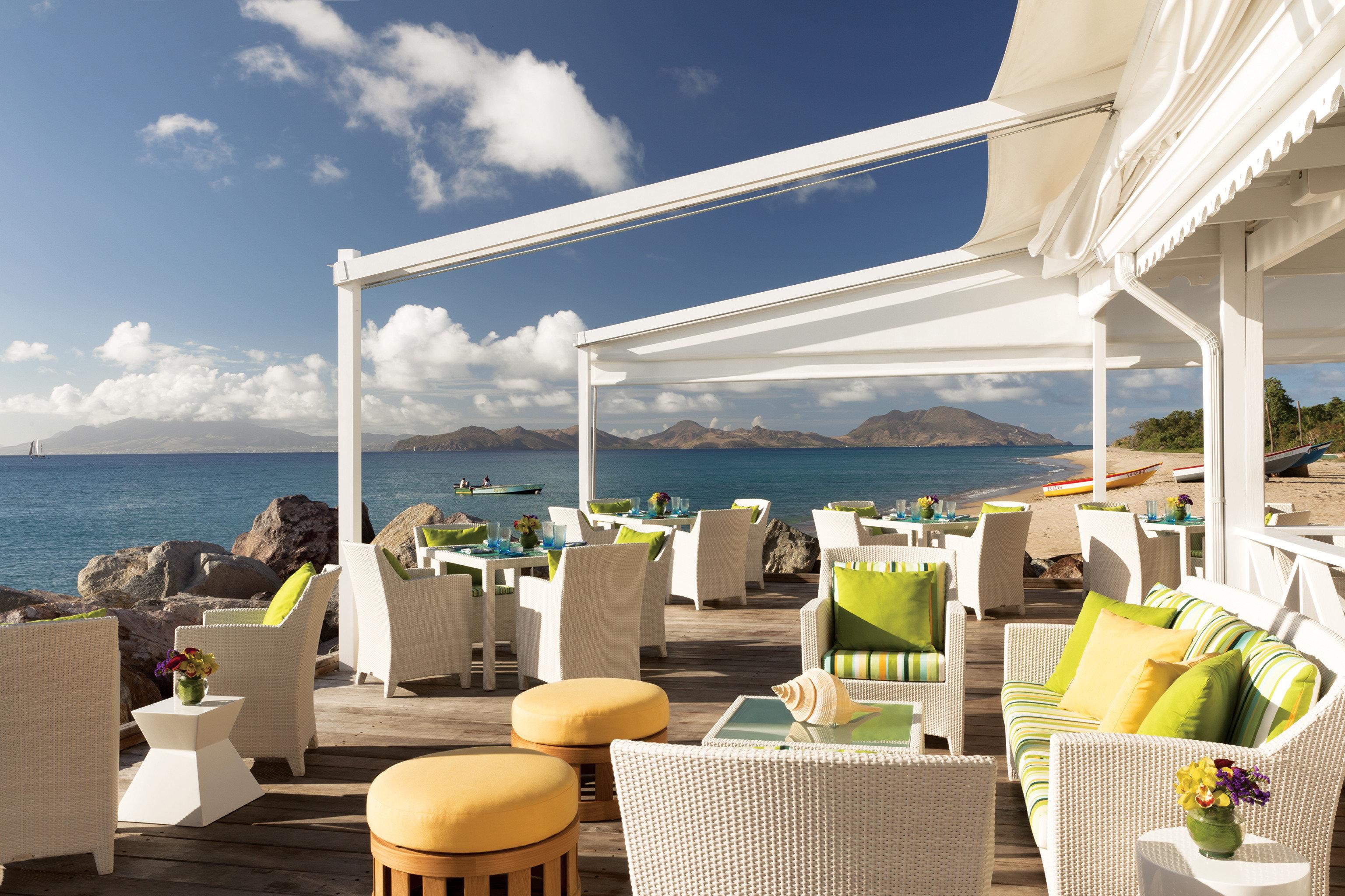 Hip Lounge Luxury Scenic views Trip Ideas sky restaurant Resort caribbean day