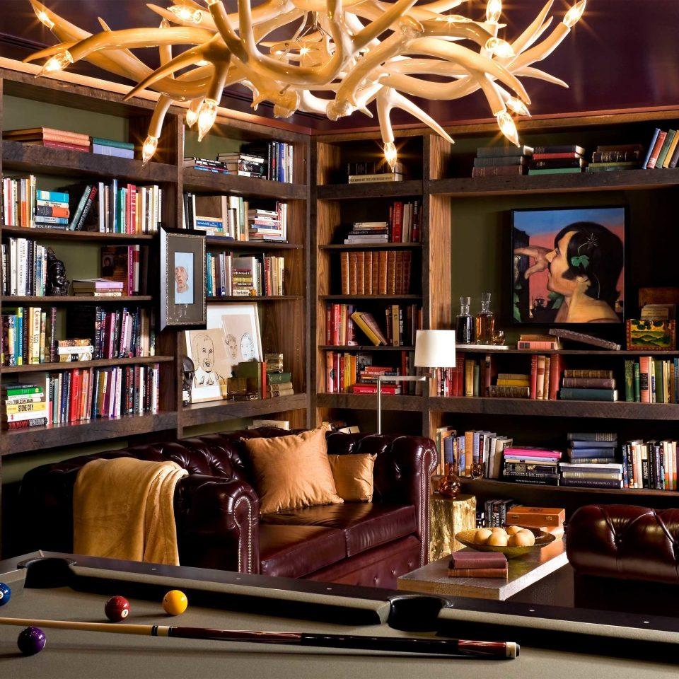 Hip Lounge Modern shelf book recreation room living room library home games