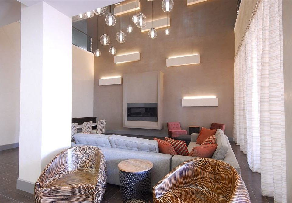 Hip Lounge Modern property living room home condominium house cottage Suite loft