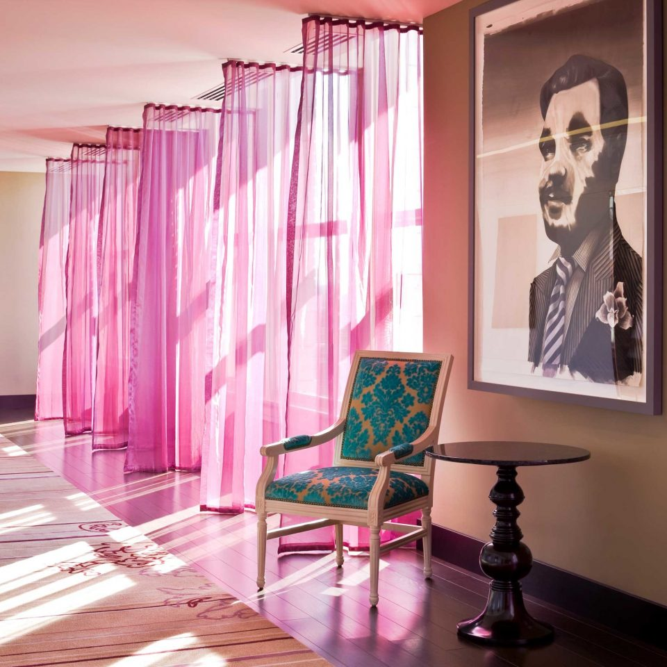 Hip Lounge Modern Travel Trends Trip Ideas curtain color pink window treatment living room purple colored