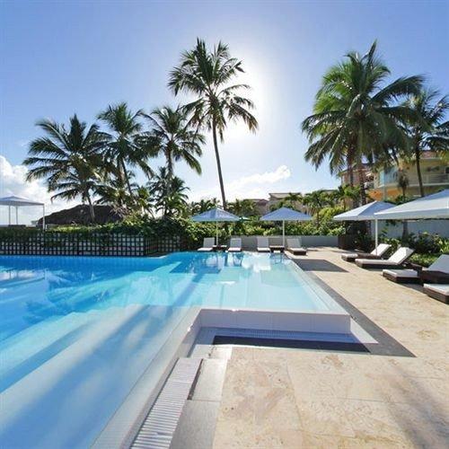 Hip Luxury Modern Pool sky tree swimming pool property palm leisure condominium Resort Villa lined