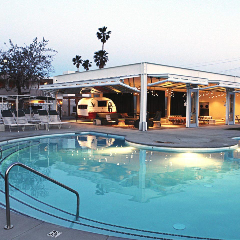 Hip Luxury Modern Pool sky swimming pool leisure property Resort condominium