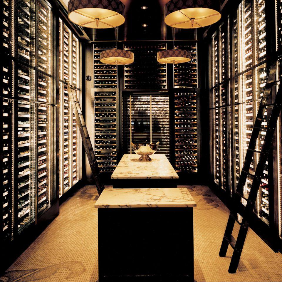 Hip Luxury Modern Wine-Tasting basement computer Winery wine cellar file