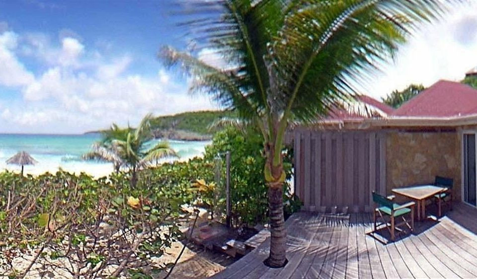 Hip Luxury Scenic views property Resort caribbean Villa swimming pool cottage eco hotel palm plant