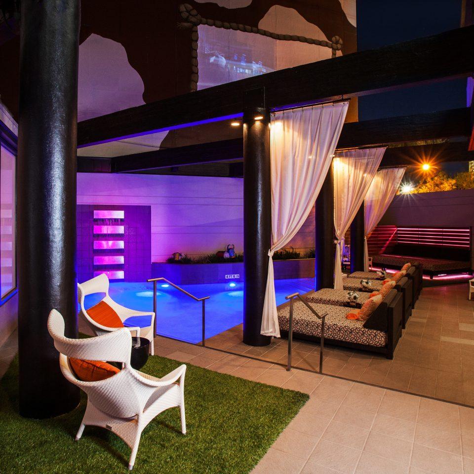 Hip Modern Pool home