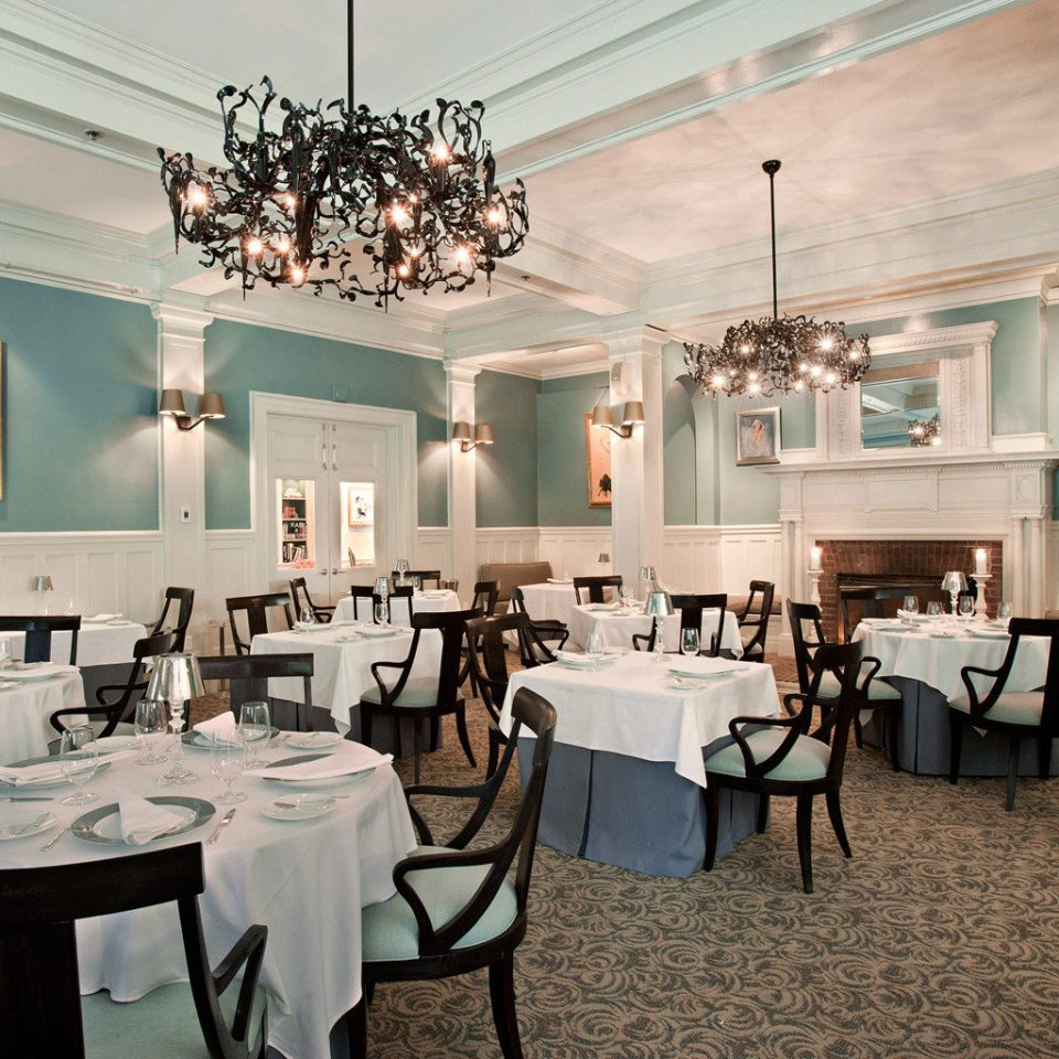 Historic chair restaurant function hall lighting ballroom