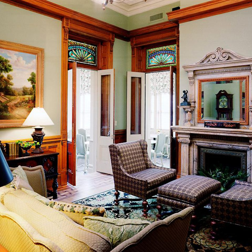 Historic Hotels Lounge Rustic living room property home house mansion Villa Suite cottage