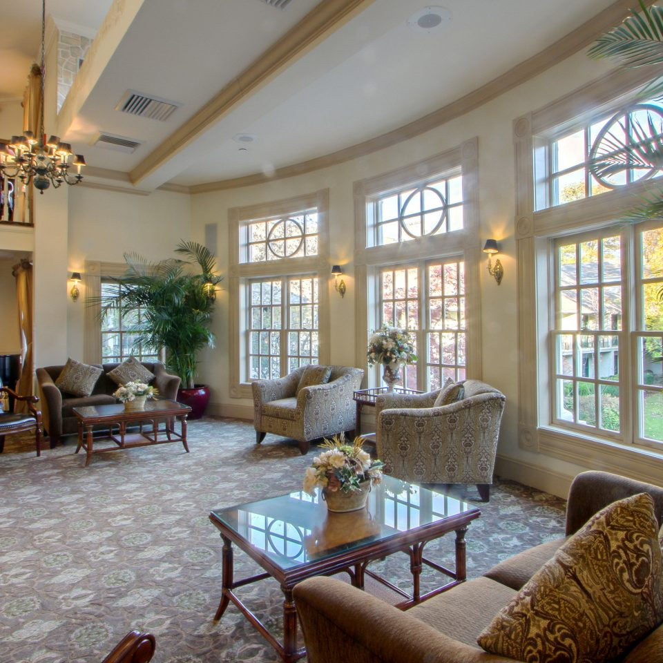 Historic Inn Lounge Outdoor Activities property chair living room home condominium Lobby Resort mansion Villa cottage