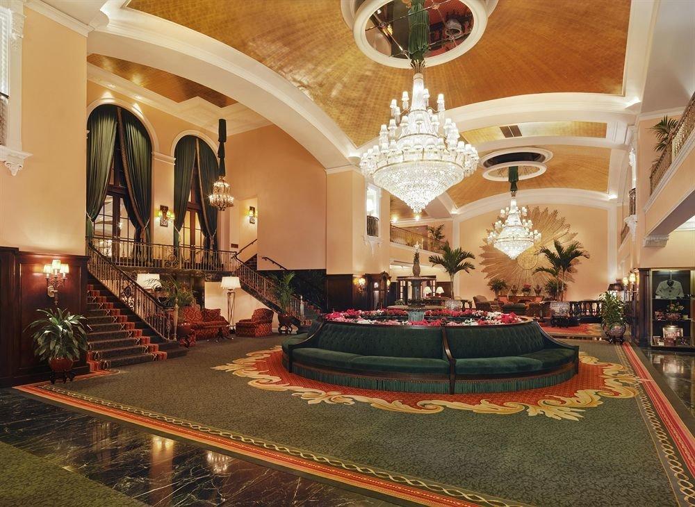 Historic Lobby property mansion living room palace hacienda altar