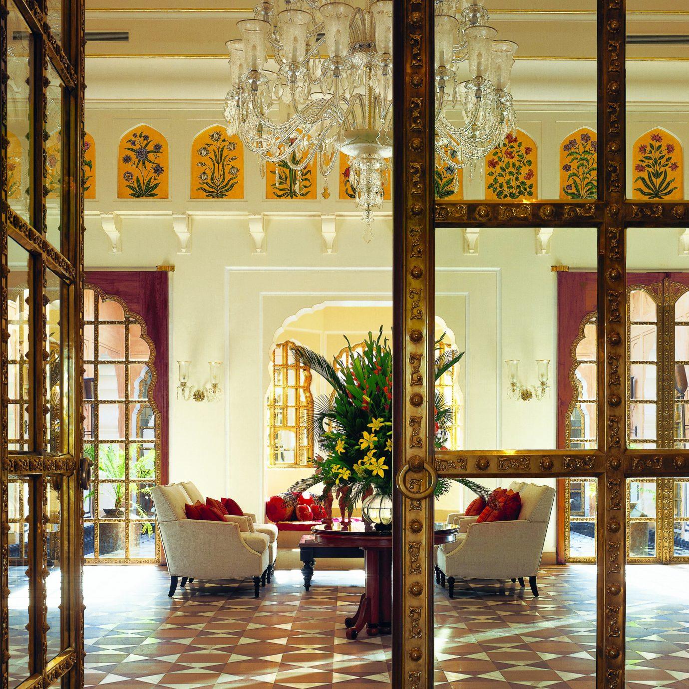 Historic Lobby Luxury home lighting palace living room
