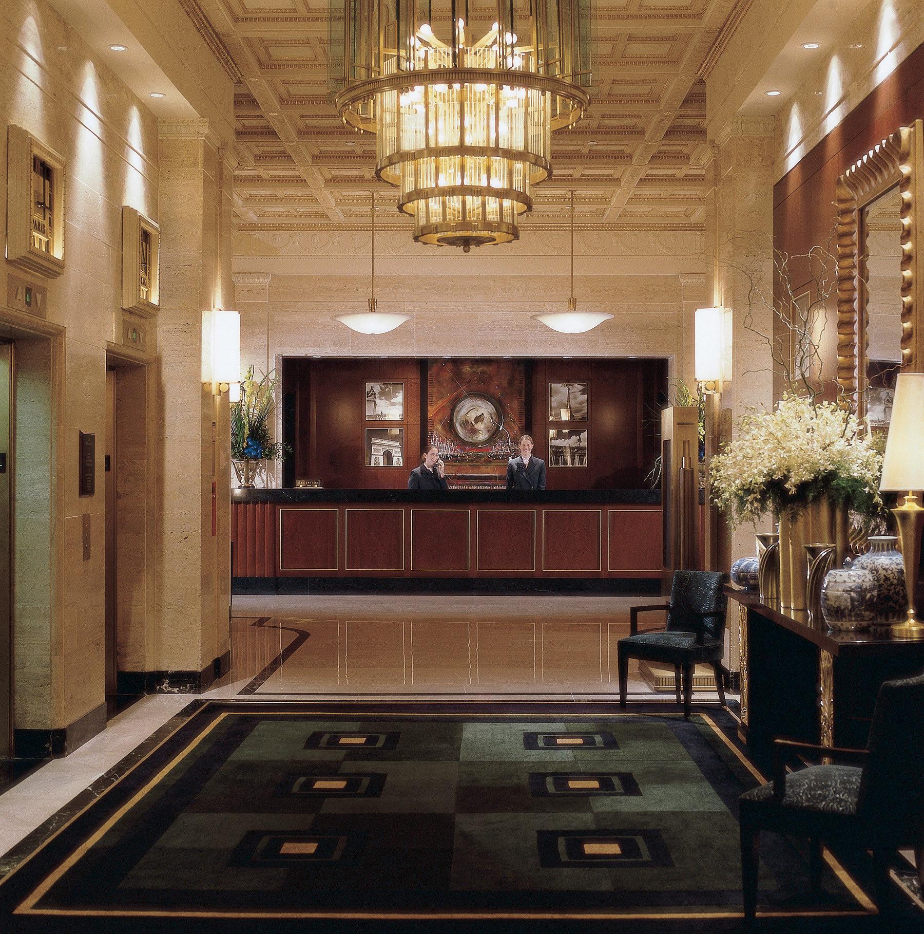 Historic Lobby Luxury Resort property building recreation room mansion home living room screenshot