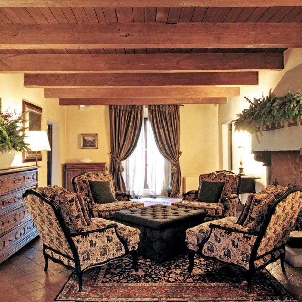 Historic Lounge Romantic sofa living room property building home house hardwood Suite Villa cottage mansion farmhouse