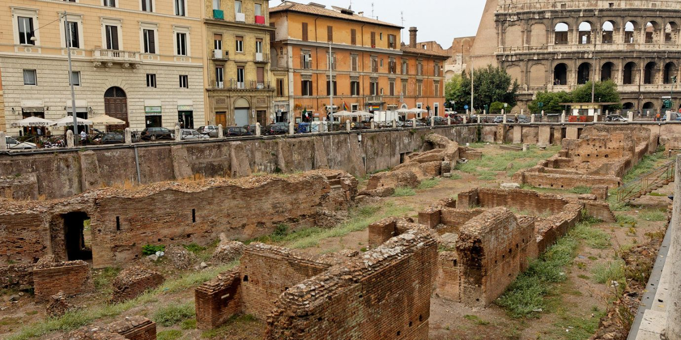 Historic Monuments Ruins building ground grass ancient rome ancient history landmark Town amphitheatre ancient roman architecture fortification waterway stone history old castle walkway