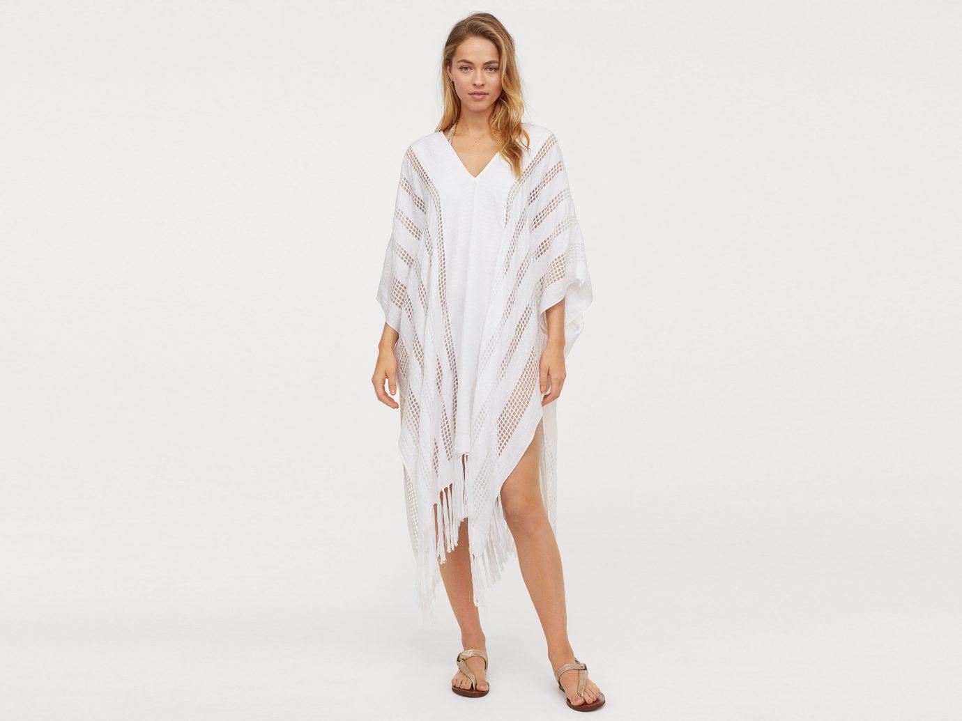 H&M Jacquard-Weave Poncho