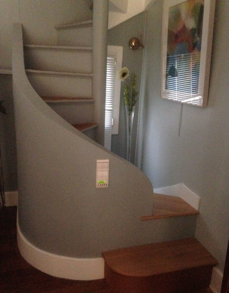 house property stairs home