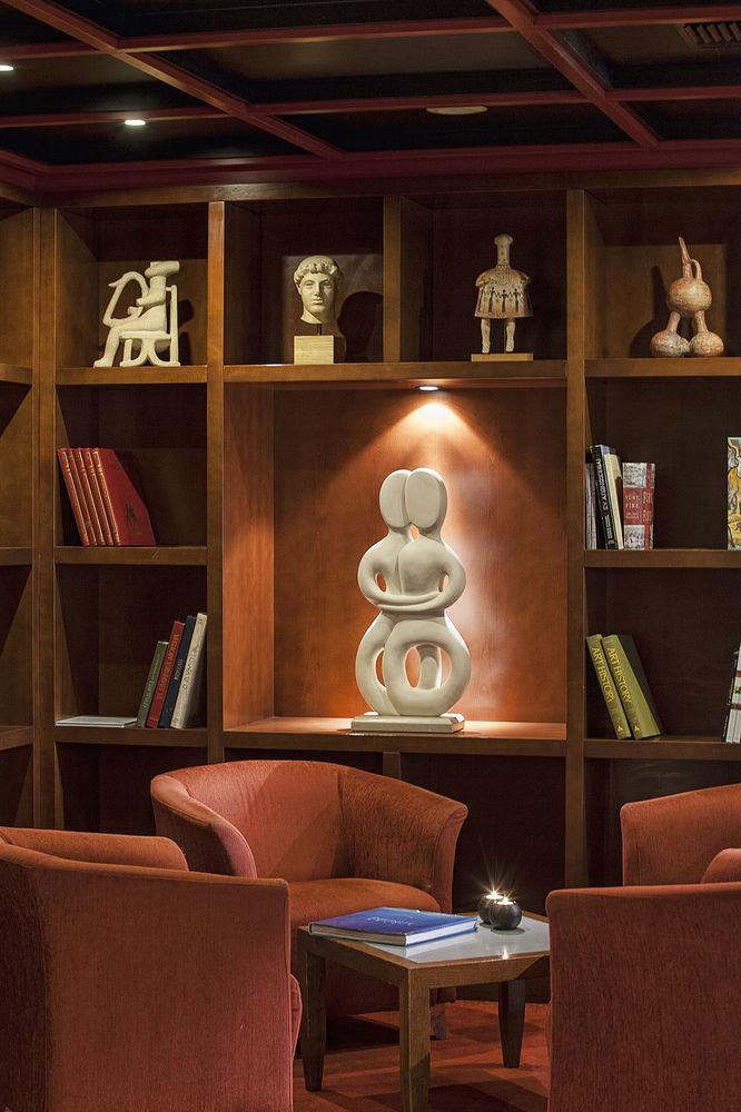 shelf living room home library