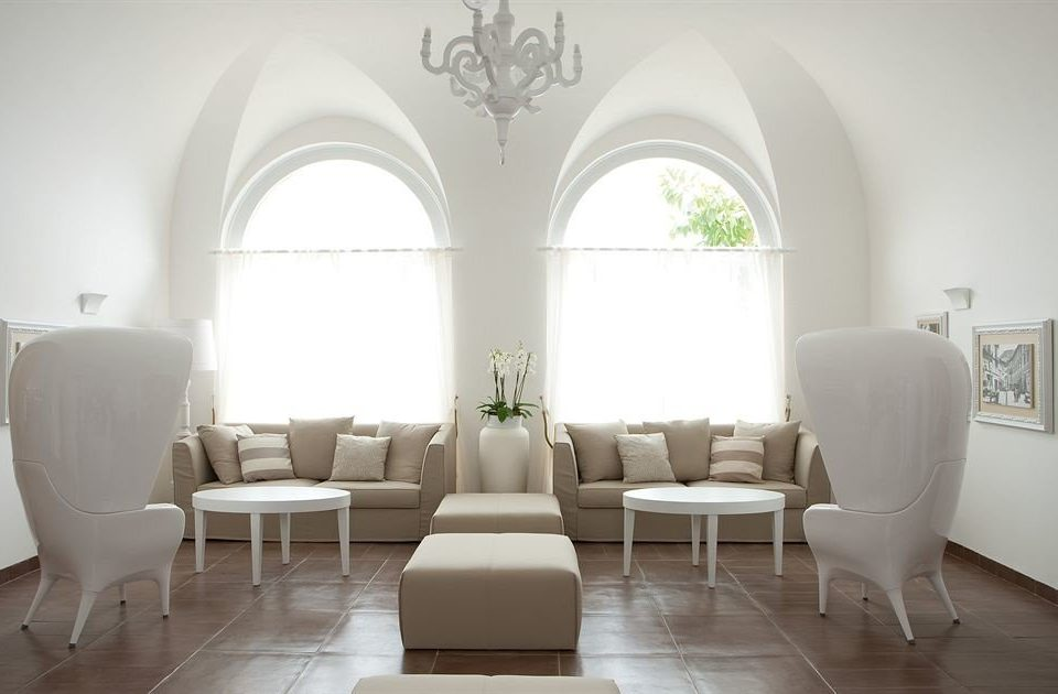 white property living room home