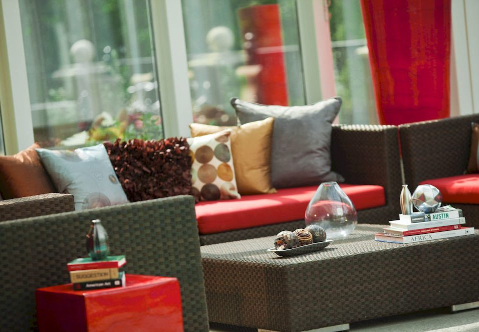 red living room home restaurant sofa seat