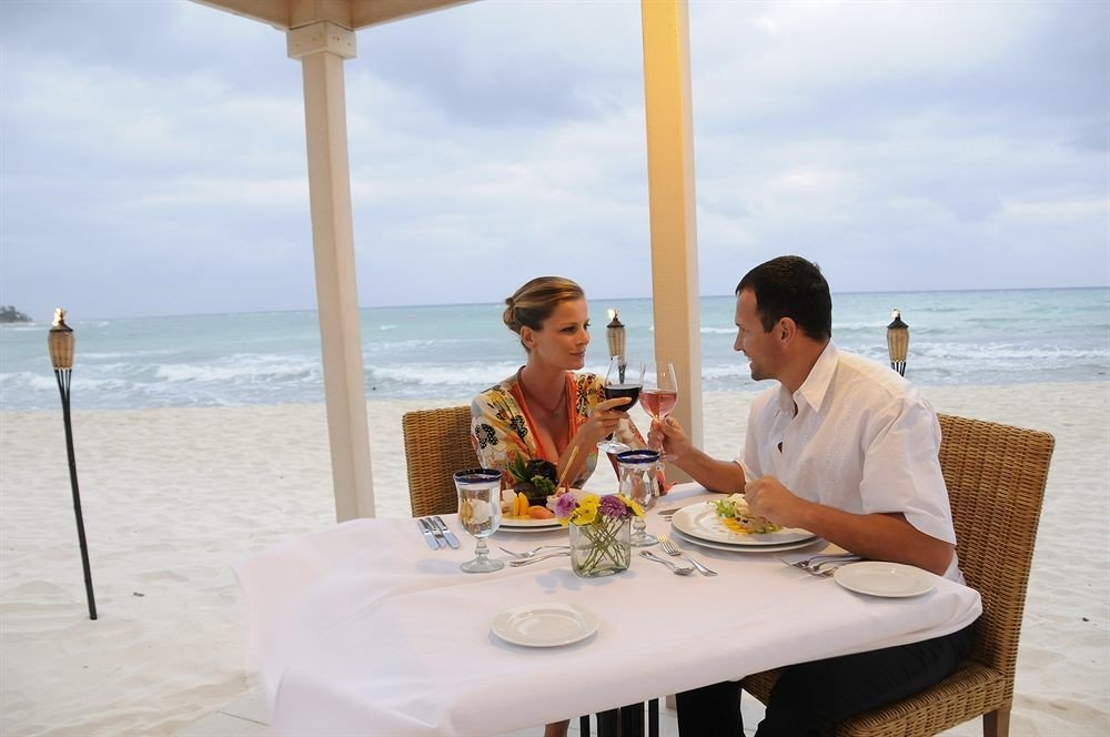 sky water leisure restaurant wedding caribbean ceremony Honeymoon