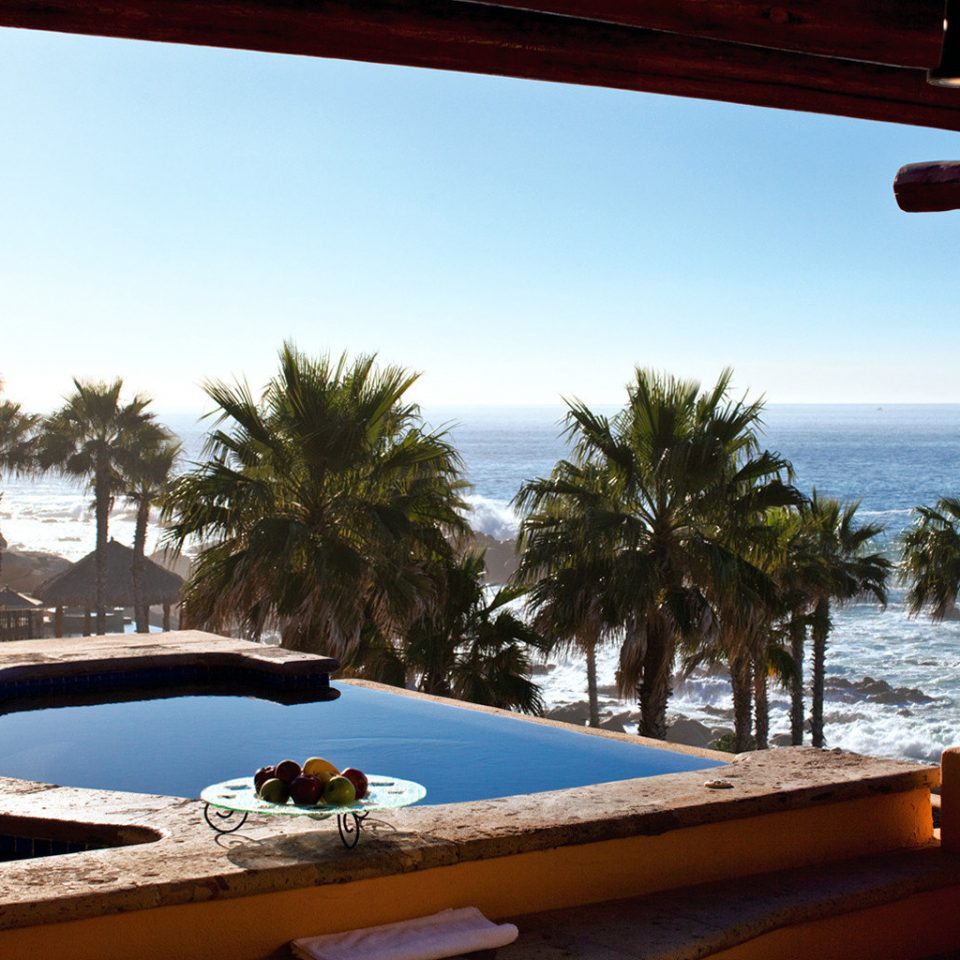 Honeymoon Hot tub Hot tub/Jacuzzi Luxury Romance Romantic Scenic views Tropical Waterfront sky swimming pool leisure property Resort Villa Sea caribbean overlooking
