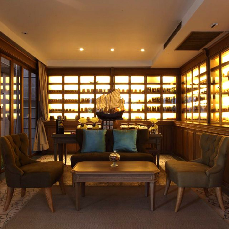 Honeymoon Jungle Lounge Romance Tropical property Lobby library home living room lighting mansion