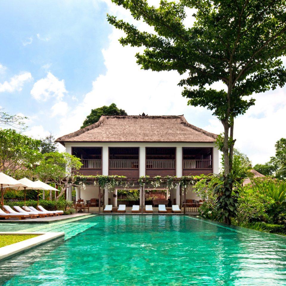 Honeymoon Luxury Pool Romance Romantic Villa tree sky house swimming pool property Resort home resort town mansion condominium lawn eco hotel swimming