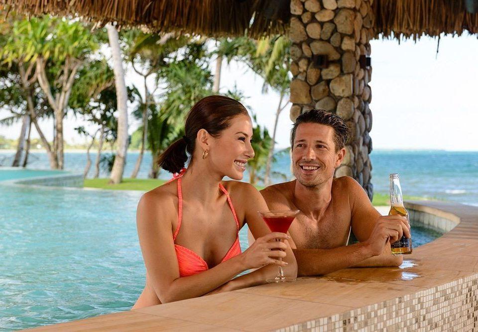 water leisure swimming pool sun tanning caribbean swimsuit Resort Honeymoon