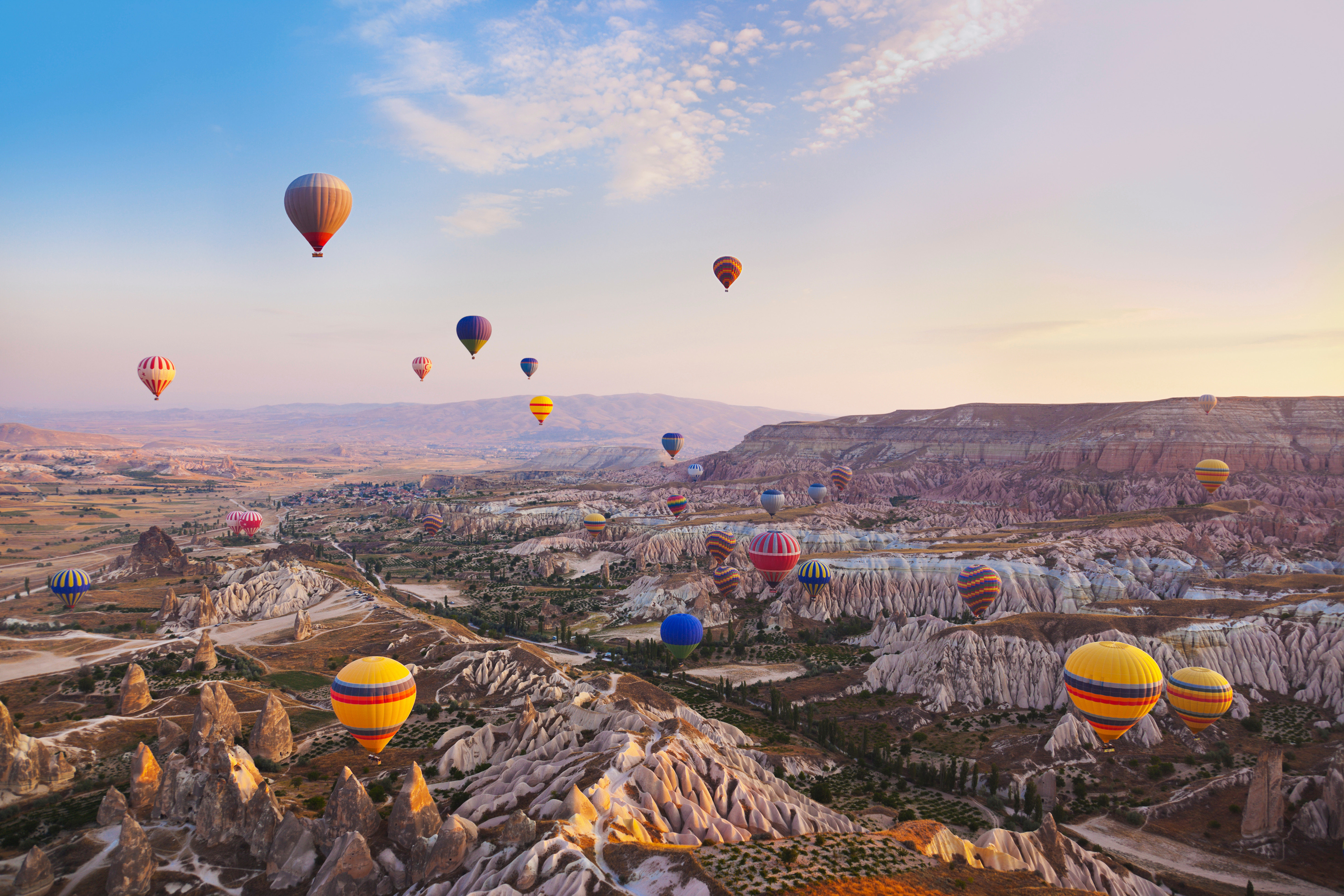 Luxury Outdoors Resort Scenic views Trip Ideas sky aircraft balloon transport hot air ballooning Hot Air Balloon vehicle atmosphere of earth toy extreme sport Raft