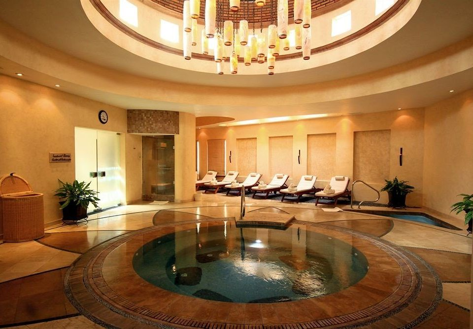 Hot tub/Jacuzzi Spa Wellness property Lobby swimming pool billiard room mansion living room function hall Suite Resort fancy Island