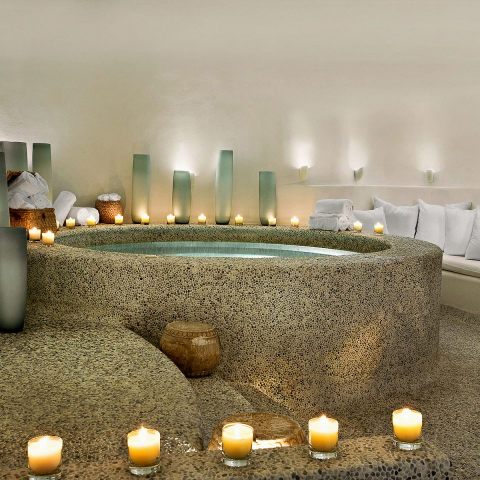 Hot tub/Jacuzzi Lounge Romantic Spa lighting Lobby counter living room function hall ballroom