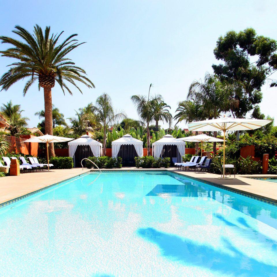 Hot tub/Jacuzzi Lounge Luxury Modern Pool Trip Ideas tree sky Resort palm swimming pool property leisure building board swimming Villa resort town caribbean condominium