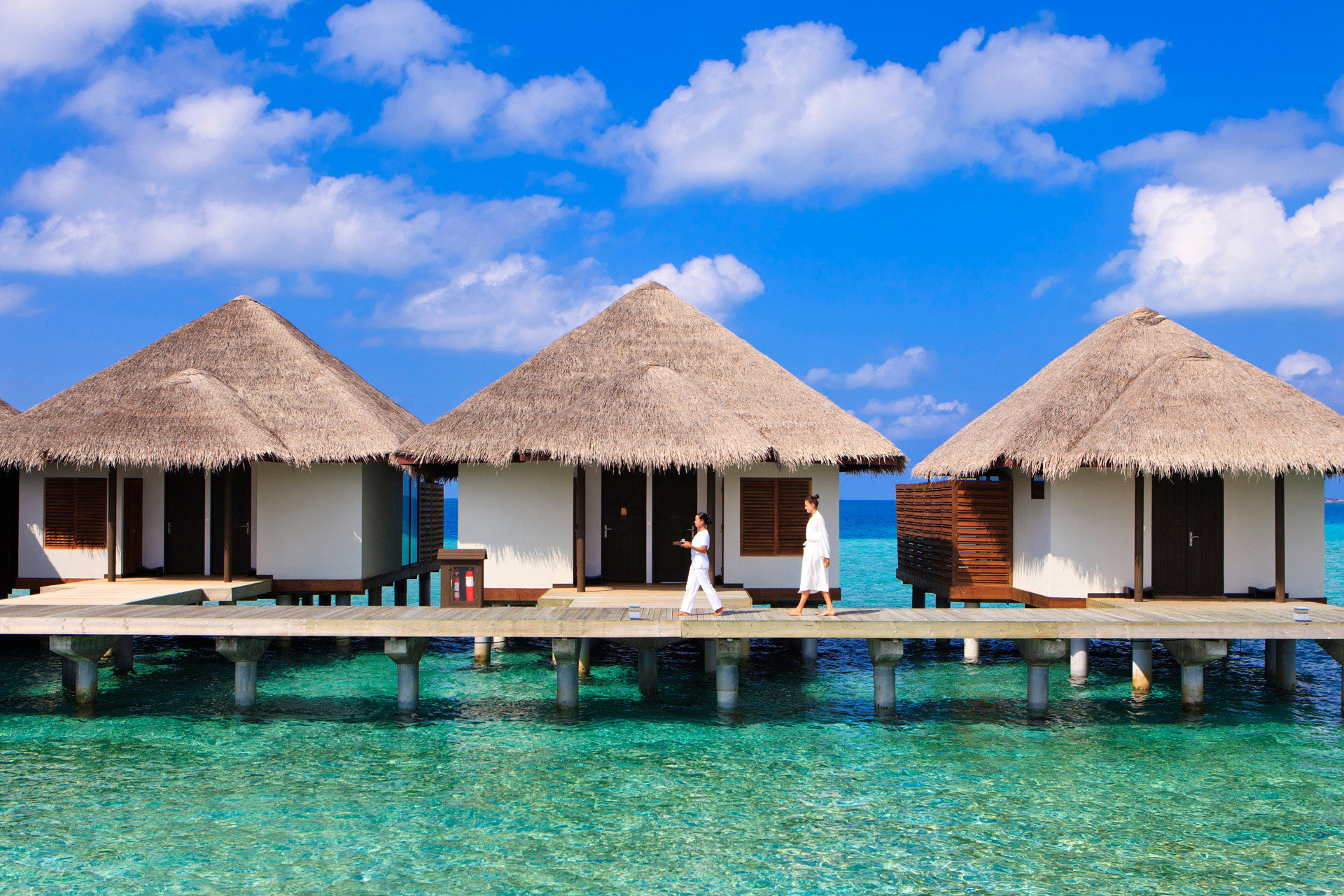 Hotels Romance Trip Ideas building sky house water swimming pool property Resort Villa home Sea hut Lagoon cottage caribbean swimming Island