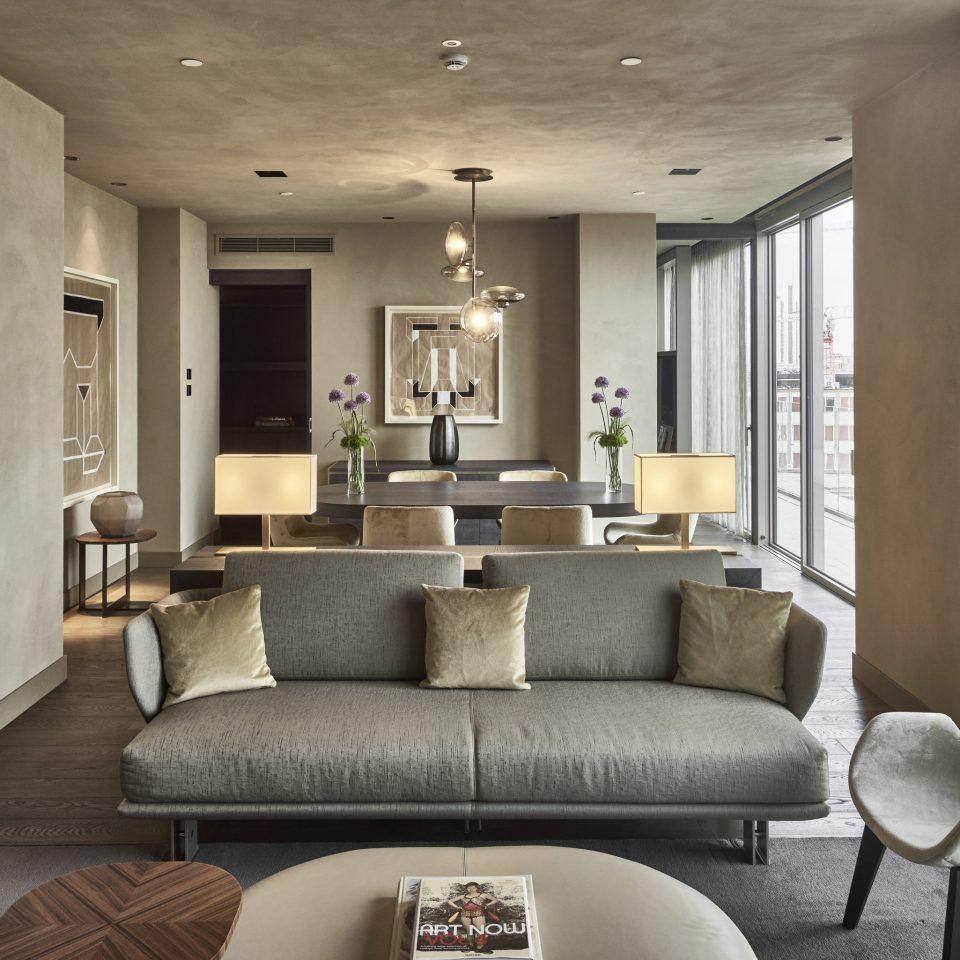 Hotels Italy Milan living room interior designer Lobby Modern tan