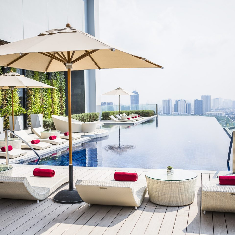 Hotels Jetsetter Guides Trip Ideas sky swimming pool outdoor structure umbrella backyard Villa